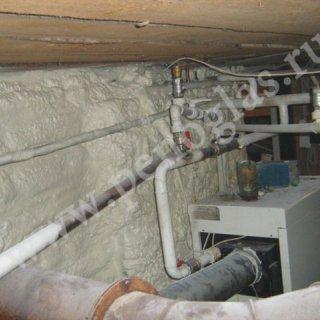 Теплоизоляция напылением ппу
